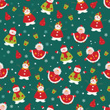 Christmas seamless2 Royalty Free Stock Photography