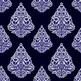 Christmas seamless pattern in folk style. Stock Images