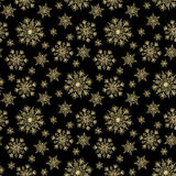 Christmas seamless pattern Stock Image