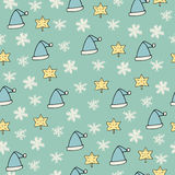 Christmas seamless pattern. Happy new year Royalty Free Stock Images