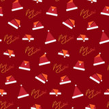 Christmas seamless pattern. Illustration of christmas seamless pattern Royalty Free Stock Photo