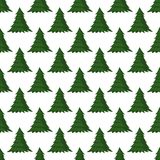 Christmas seamless pattern Merry Christmas and Happy New Year winter holiday background decorative paper vector. Illustration. Festive textile xmas abstract Royalty Free Stock Photography
