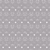 Christmas seamless pattern simple vector Stock Images