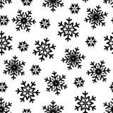Christmas seamless pattern. Snowflake background Royalty Free Stock Photos