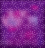 Christmas seamless pattern. Snowflake on a purple background. seamless pattern stock illustration