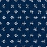 Christmas seamless pattern with snowflakes abstract background. Holiday design for Christmas and New Year fashion prints. Royalty Free Stock Photography