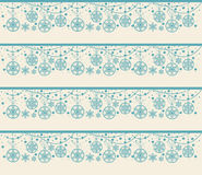 Christmas seamless pattern from snowflakes Stock Photography