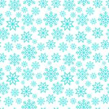 Christmas seamless pattern with snowflakes Royalty Free Stock Images