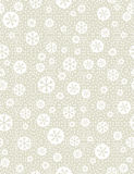 Christmas seamless pattern with snowflakes, vector royalty free stock photo