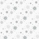 Christmas seamless pattern with snowflakes white background eps10. Christmas seamless pattern with snowflakes white background eps 10 Vector Illustration