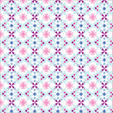 Christmas seamless pattern with snowman Stock Photography