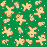 Christmas Seamless Pattern vector Royalty Free Stock Images