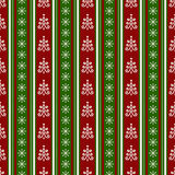 Christmas Seamless Pattern. Vector Background. Royalty Free Stock Photography