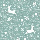 Christmas seamless pattern Stock Photography