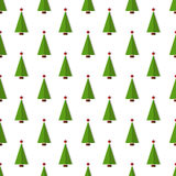 Christmas seamless pattern. Vector background. Royalty Free Stock Images