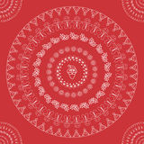 Christmas seamless pattern vector Royalty Free Stock Photography