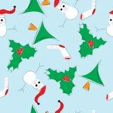 Christmas seamless pattern vector illustration stock illustration