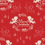 Christmas seamless pattern. Royalty Free Stock Photos