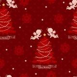 Christmas seamless pattern. Royalty Free Stock Image