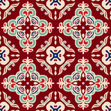Christmas seamless pattern vector tiled Stock Photography