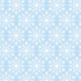 White snowflakes on blue. Christmas seamless pattern with white snowflakes on blue background Stock Illustration