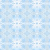 Christmas seamless pattern from white snowflakes Royalty Free Stock Photos