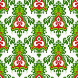 Christmas seamless pattern winter holiday Royalty Free Stock Photography