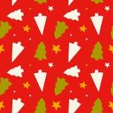 Christmas seamless patterns Stock Photos