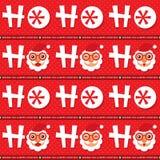 Christmas seamless Santa Claus Royalty Free Stock Photography