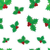 Christmas seamless texture Stock Photography