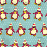 Christmas seamless texture Stock Image