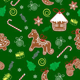 Christmas seamless texture Royalty Free Stock Photos