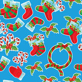 Christmas  seamless texture pattern Royalty Free Stock Image