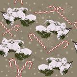 Christmas seamless texture. Stock Photo