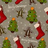 Christmas seamless texture. Stock Photography
