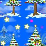 Christmas Seamless Tile Stock Photography