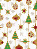 Christmas seamless vector patter Stock Photography