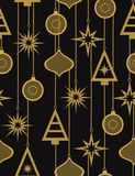 Christmas seamless vector pattern Stock Photography
