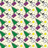 Christmas Seamless vector pattern Royalty Free Stock Images