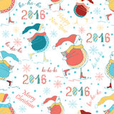 Christmas Seamless Vector Pattern. Great for wrapping paper and wallpapers. stock illustration