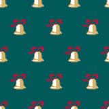 Christmas Seamless Vector Pattern. Pixelated Christmas Colorful Seamless Vector Pattern Background Stock Images
