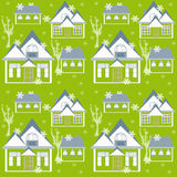 Christmas seamless winter pattern texture background Royalty Free Stock Images