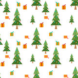 Christmas seamless winter pattern texture background Royalty Free Stock Photos