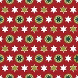 Christmas seamless wrapping paper - repeating Stock Images