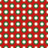 Christmas seamless wrapping paper - repeating Stock Photography