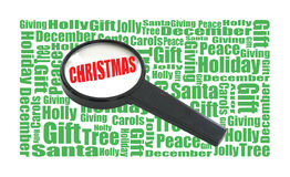 Christmas Search Stock Photography