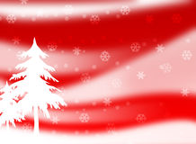 Christmas Season 002. Christmas Season Layout with snowflakes and trees 002 Stock Photos