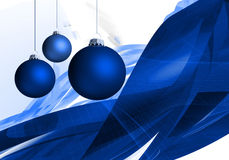Christmas Season 002. Christmas Season Layout with xmas balls and abstract background 002 Stock Photography
