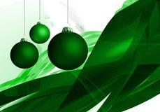 Christmas Season 003. Christmas Season Layout with xmas balls and abstract background 003 Royalty Free Stock Image