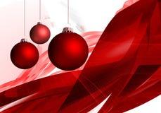 Christmas Season 004. Christmas Season Layout with xmas balls and abstract background 004 royalty free illustration
